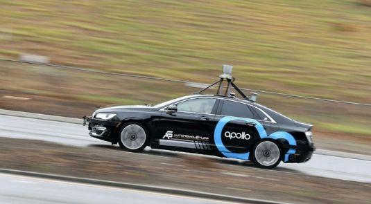 百度のRobotaxiの1キロ当たりコストは約20元に