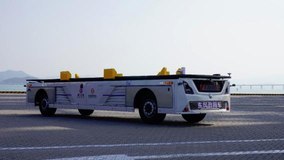 中国初の5G知能化港湾、Deeprouteの自動運転トラック実演