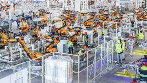恒大汽車、最先端の自動車生産工場を公開