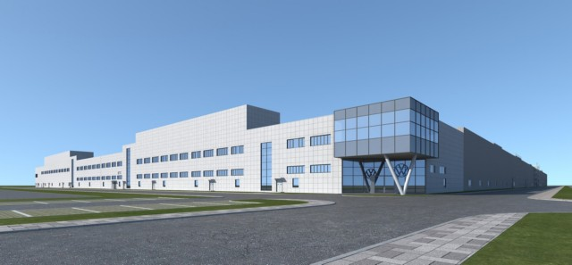 VW、電気自動車MEB工場が安徽省で着工